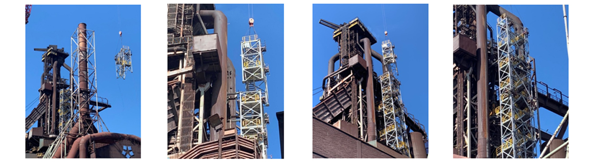 Retrofitting Stair Tower To Equipment In Existing Plant – Case Study For Blast Furnace In Steel Plant