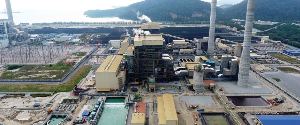 1000 MW ultra supercritical thermal power plant in Malaysia delivered as an engineering partner to a Korean EPC