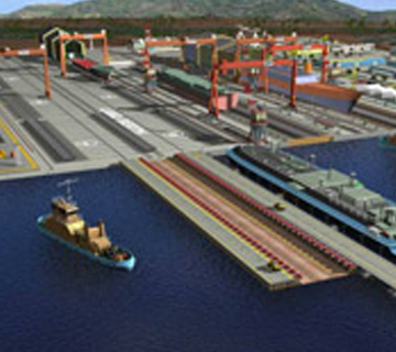 Proposed Shipyard and a Multipurpose Port