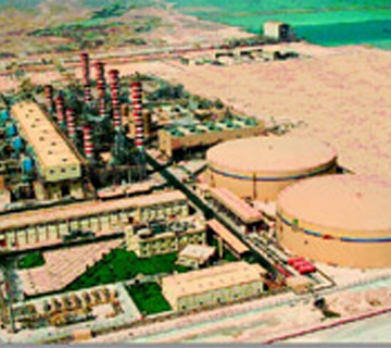 750 MW Gas Turbine Power Plant (Qatar)