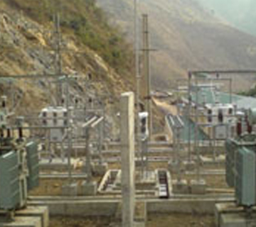 4 x 3.6 MW Suoi Sap Hydro Electric Power Plant in Vietnam