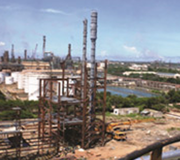 Upgradation refinery, Chennai Petroleum Corporation Ltd